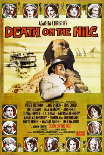 Смерть на Ниле / Роковое путешествие / Death on the Nile (1978) Великобритания